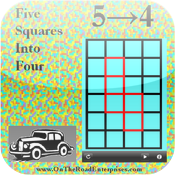 Five Squares Into Four